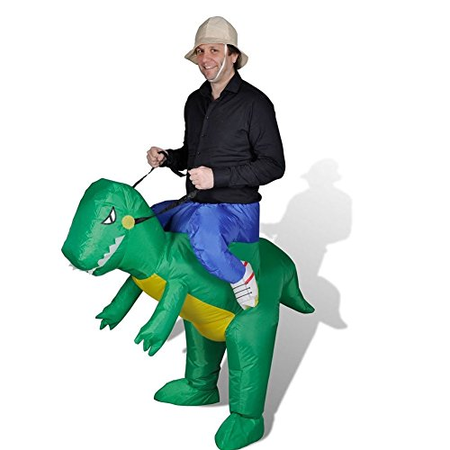 Harry Shops HOLIDAY Inflatable DINOSAUR Riding Clothes Cosplay Costume