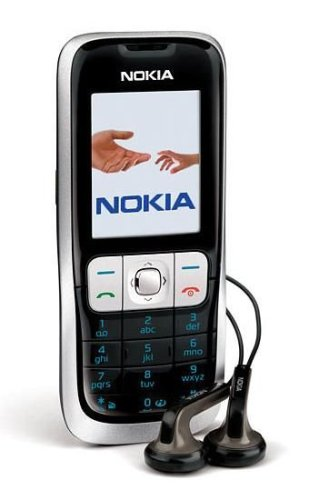 Nokia 2630 Unlocked Cell Phone--U.S. Version with Warranty (Black)