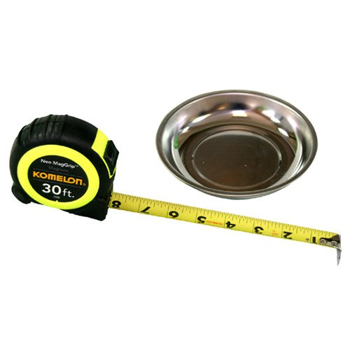 Komelon 7330Md Neo Maggrip 30' Tape Measure With Magnetic Parts Tray