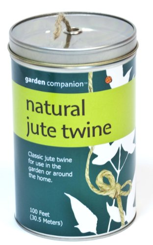 Patio Companion Natural Jute Twine Can