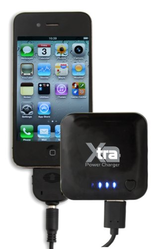 Thumbs Up Uk Xtra Power Charger For Mobiles - Travel Charger - Retail Packaging - Black