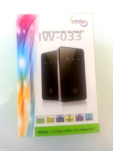 Unlocked Mobile 3G Hotspot W/Doodad Prepaid International Data Sim Card