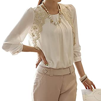 ... Casual Loose Tops Blouse Shirt at Amazon Women's Clothing store