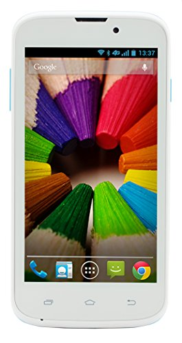 Plum Check Plus Unlocked Dual SIM Android Smartphone (blue) - 4.5
