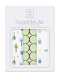 SwaddleDesigns SwaddleLite, Cute & Calm Lite (Set of 3 in Kiwi)