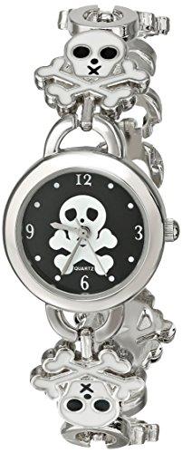 Frenzy Kids' FR160 Skull Novelty Analog Bracelet Watch image
