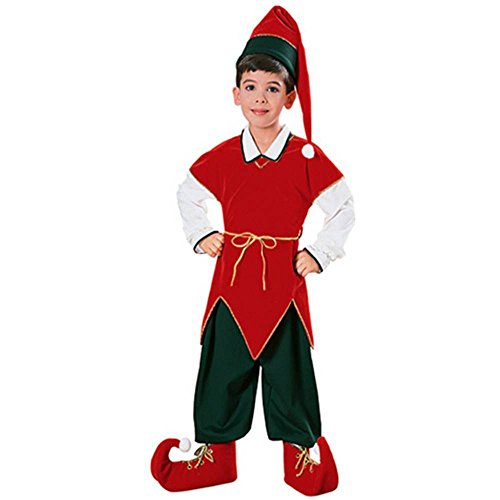 Velvet Elf Kids Costume