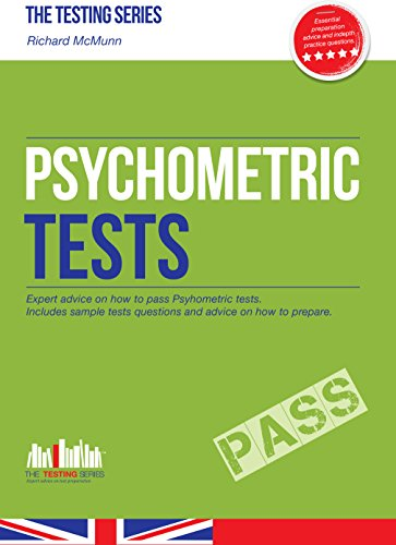 Psychometric Tests (the Ultimate Guide) (Testing Series), by Richard McMunn