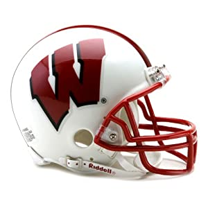 NCAA Wisconsin Badgers Replica Mini Football Helmet