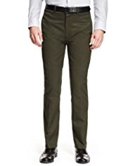 Autograph Pure Cotton Straight Fit Military Chinos