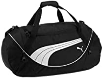 PUMA Men's Teamsport Formation 24 Inch Duffel Bag, Black, One Size