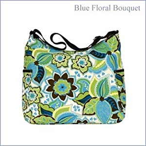 OiOi Designer Floral Hobo Diaper Bag (Color=Please Select)
