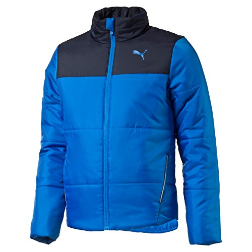Puma Ess Padded Piumino - Blu (Electric Blue Lemonade/Peacoat) - M
