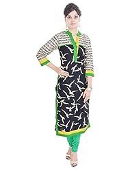 Shop Rajasthan Women's Cotton Printed 3/4 Sleeve Kurti