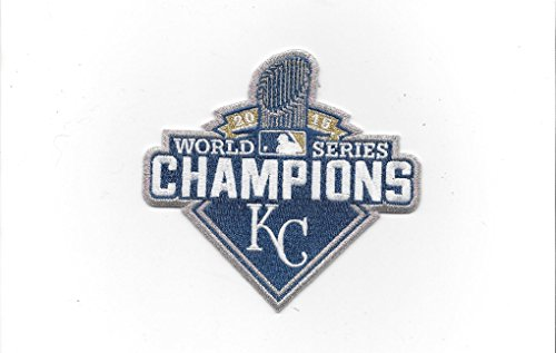 The Emblem Source 2015 Kansas City Royals World Series Champions Sleeve Patch Official Jersey Logo