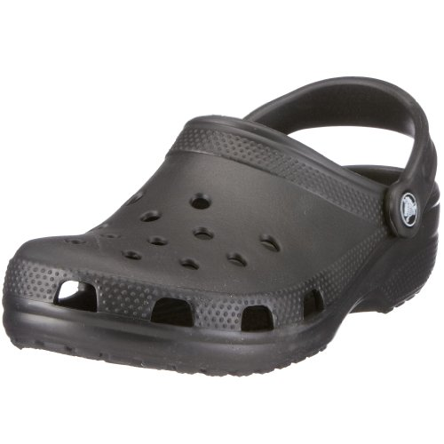crocs Classic Clog,Black,Men's 12 M/Women's 14 M