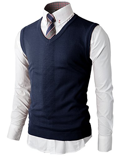 h2h mens various color casual slim fit light weight knit