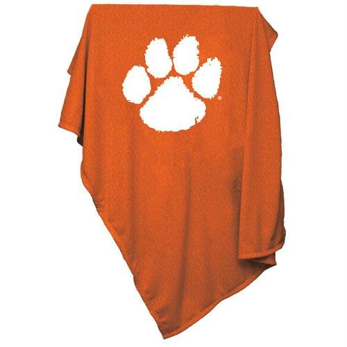 NCAA Clemson Tigers Sweatshirt Blanket at Amazon.com