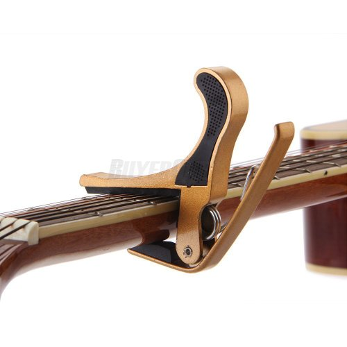 Quick Change Key Trigger Acoustic Electric Folk Guitar Tune Capo Clamp