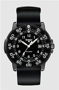TRASER H3 - Reloj Negro Pro Electricidad Con Pulsera De Silicona