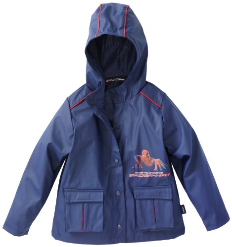 Marvel Boys 2-7 Spiderman Rainslicker