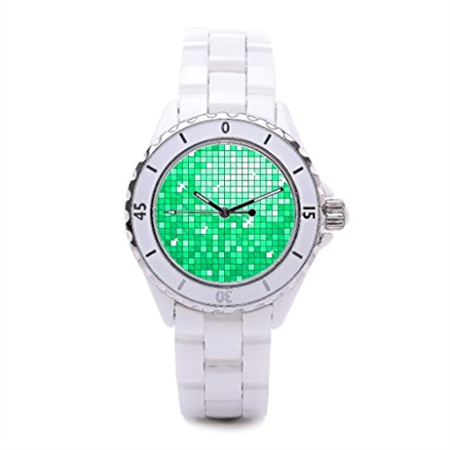 Tiled Dress Watches Mirror Ball Watch Disco Ball Fashion Watches