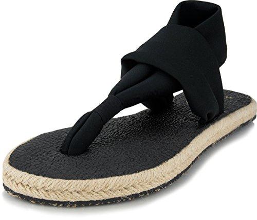 Nalho Women's Comfort Sandals Flip Flops and Espadrilles, Comfortable Flats Shoes and Slingback Slides