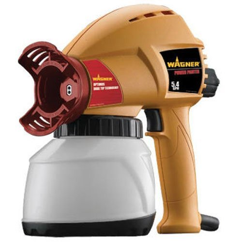 Wagner 0525037 5.4 GPH Power Painter featuring Optimus Dual Tip Technology (Wagner Paint Sprayer Container compare prices)