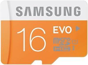 Samsung Carte Mémoire EVO Micro SD Classe 10  MB-MP16D/EU 16 Go