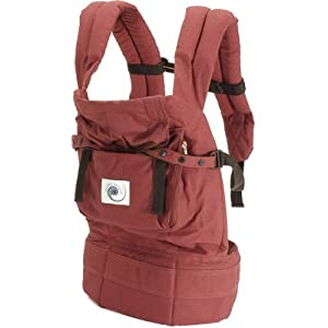 Ergo Carrier - Organic Cranberry