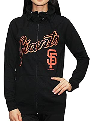 Womens SAN FRANCISCO GIANTS Athletic Zip-Up Jacket