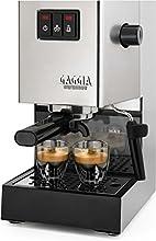 Gaggia RI9403/11 Siebträger Espressomaschine, Dampfdüse, Edelstahl
