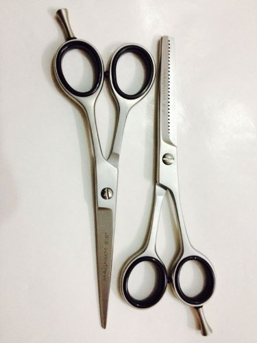"""5.5"""" Professional Hair Cutting+Thinning Set Barber Scissors Shears Magnum Fast Shipping front-607356"""