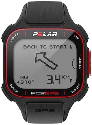 Polar RC3 GPS CardiofrequencemÃstre avec ceinture cardiaque mixte adulte Noir 3.3-4 cm