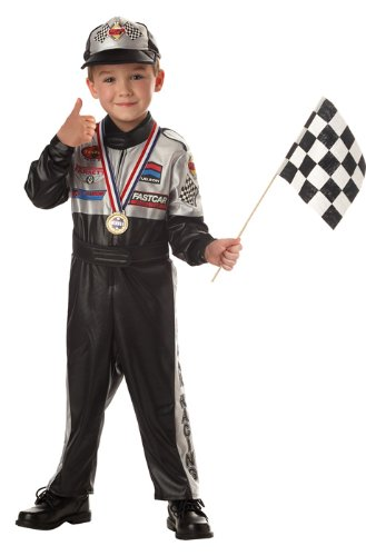 Child's Race Car Driver Costume Size 4-6