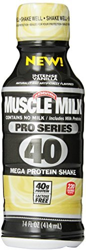 Cytosport Milk Pro Series Intense Protein Power Shake, Vanilla, 14oz Bottles,12 Count