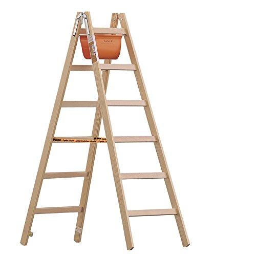 Layher-Holzleiter-Stehleiter-nach--Norm-1053-3-Sprossen-Arbeitshhe-230-m