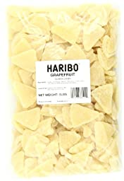 Haribo Gummi Candy, Grapefruit, 5-Pound Bag