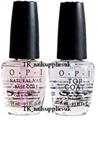 OPI Natural Nail Base and Top Coat 15 ml