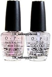 OPI Natural Nail Base & Top Coat 15ml