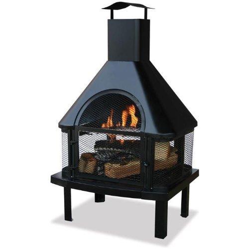 ユニフレーム ブラック屋外暖炉