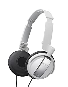 Sony MDRNC7/WHI Noise Canceling on-ear headphones (White)