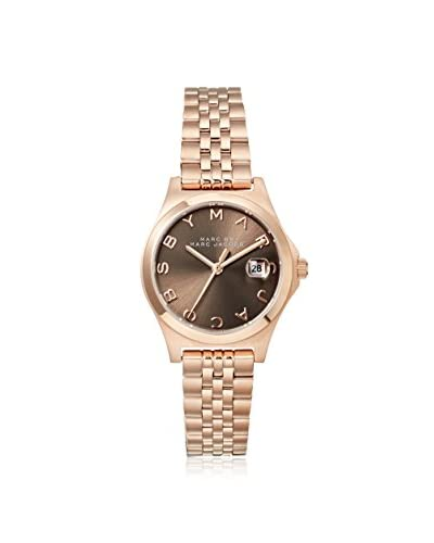 Marc by Marc Jacobs Women's MBM3352 The Slim Rose Gold/Gray Stainless Steel Watch