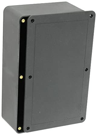bud industries cu 3286 plastic style a utility box 10 9. Black Bedroom Furniture Sets. Home Design Ideas