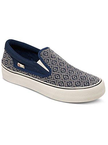 Dc Shoes Trase Slip-On S J Shoe, Color: Navy, Size: 36 EU (5.5 US / 3.5 UK)