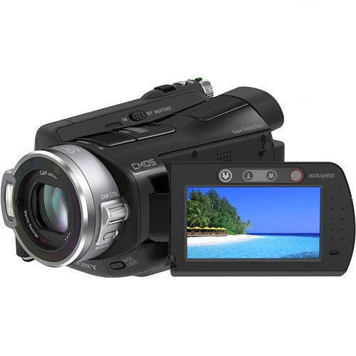 Sony HDR-SR7 AVCHD 6.1MP 60GB High Definition Hard Disk Drive Camcorder with 10x Optical Zoom
