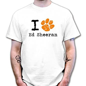 i paw ed sheeran t shirt white size 4xl. Black Bedroom Furniture Sets. Home Design Ideas