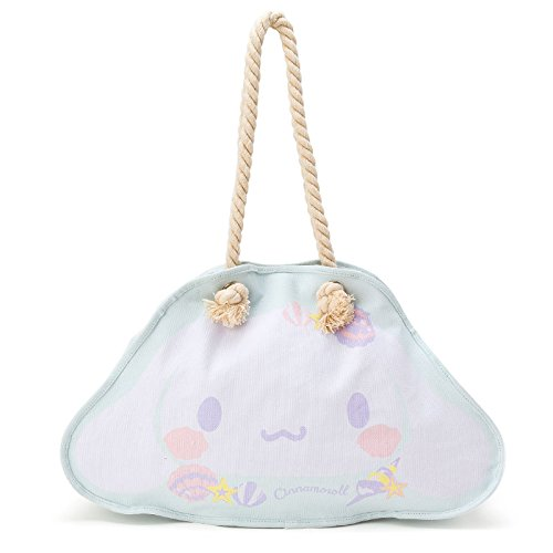 sanrio-cinnamoroll-face-shaped-tote-bag-shell-from-japan-new