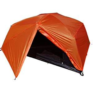 Paha Que Wilderness Bear Creek 200 2 Person Backpacking Tent (BurntOrange, 86 x 60 x 36-Inch)