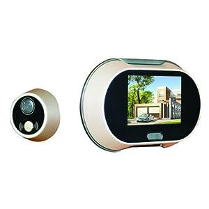 DBPOWER 170 Degree Wide Angle Peephole LCD Digital Video Door Viewer Doorbell Security Camera Cam 3.5 inch